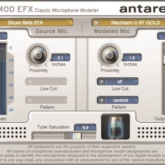 Mic-Mod EFX Microphone Modeling Software