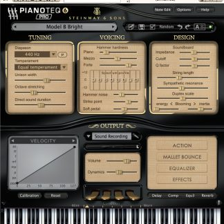 Pianoteq 6 Pro -Stand Upg (Electronic Delivery)